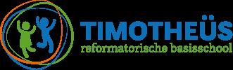 Het logo van Timotheüs reformatorische basisschool Lelystad